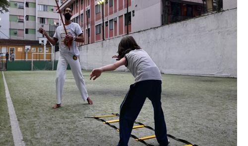 Aula de capoeira - COPAVI